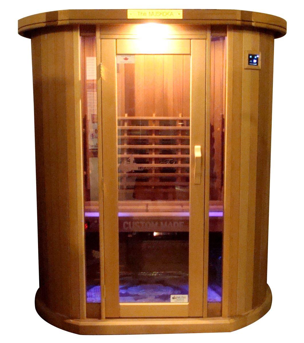 The Muskoka Series Saunas